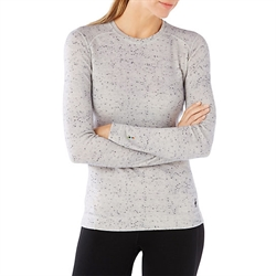 Smartwool: Women's Merino Midweight Crew Pattern [250g] Winter White Donegal