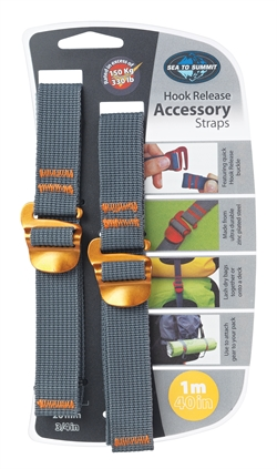 Sea to Summit: Accessory Hook Straps 20mm [1m] Yellow