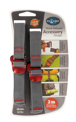 Sea to Summit: Accessory Hook Straps 20mm [2m] Red