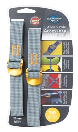 Sea to Summit: Accessory Straps 20mm [1m] Yellow